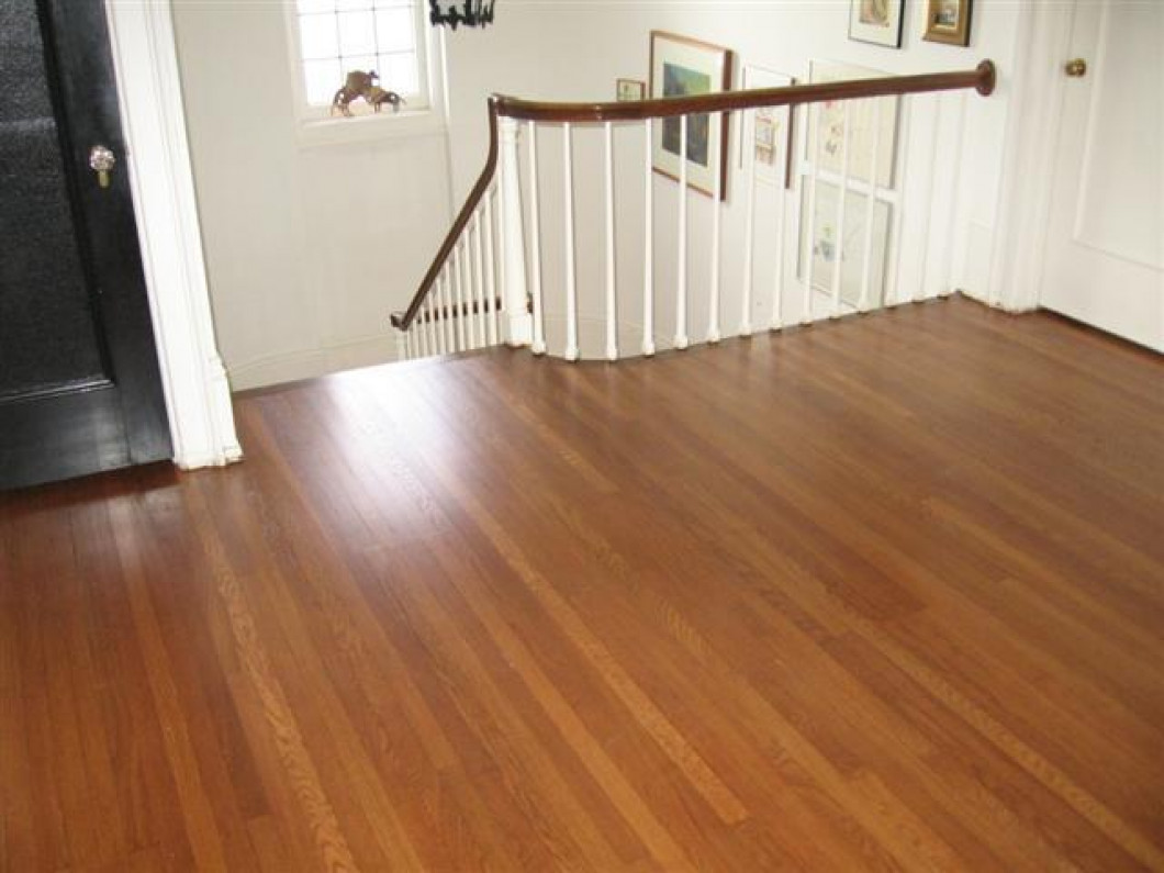 You'll have beautiful hardwood flooring in no time